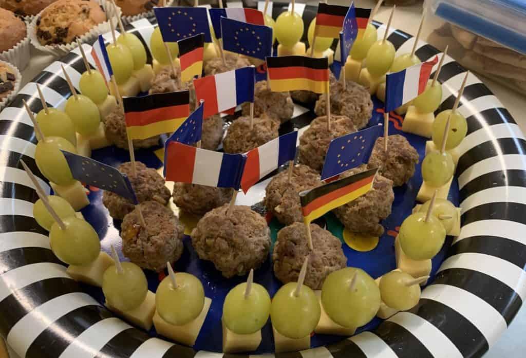Deutsch-französisches Büffet