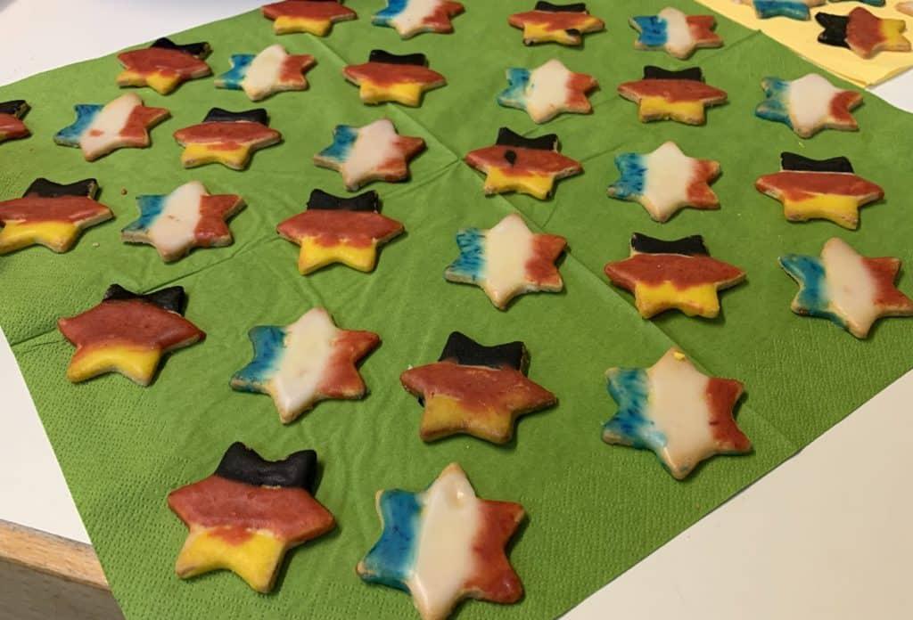 Deutsch-französische Weihnachtsbäckerei